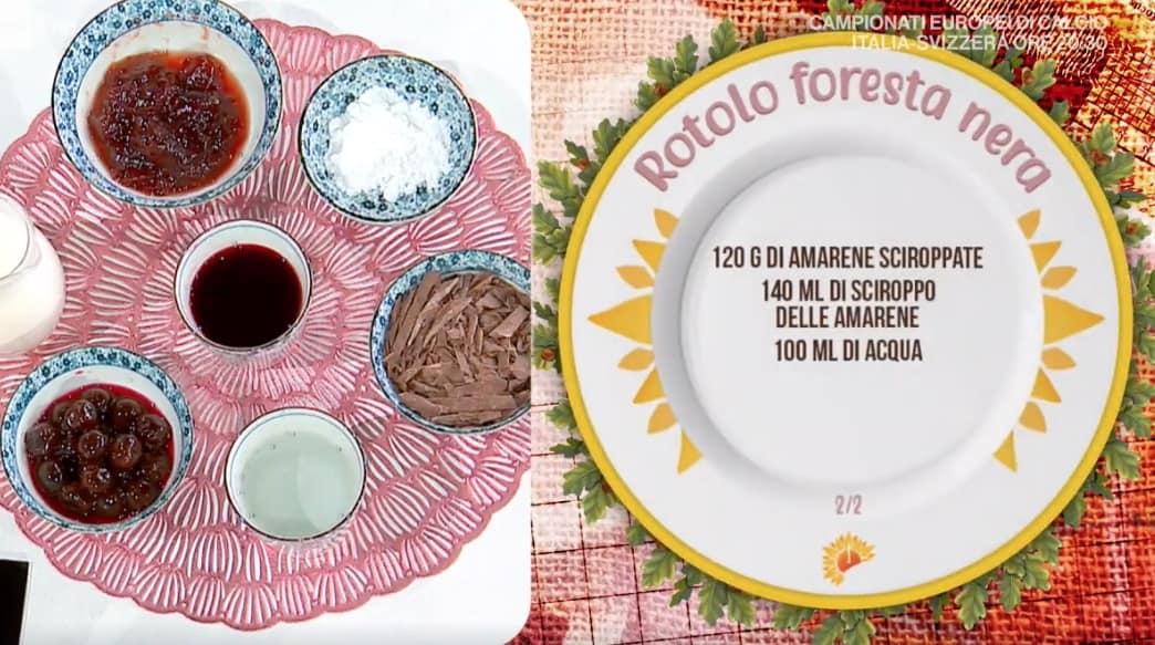 Rotolo foresta nera, la ricetta dolce di Barbara De Nigris