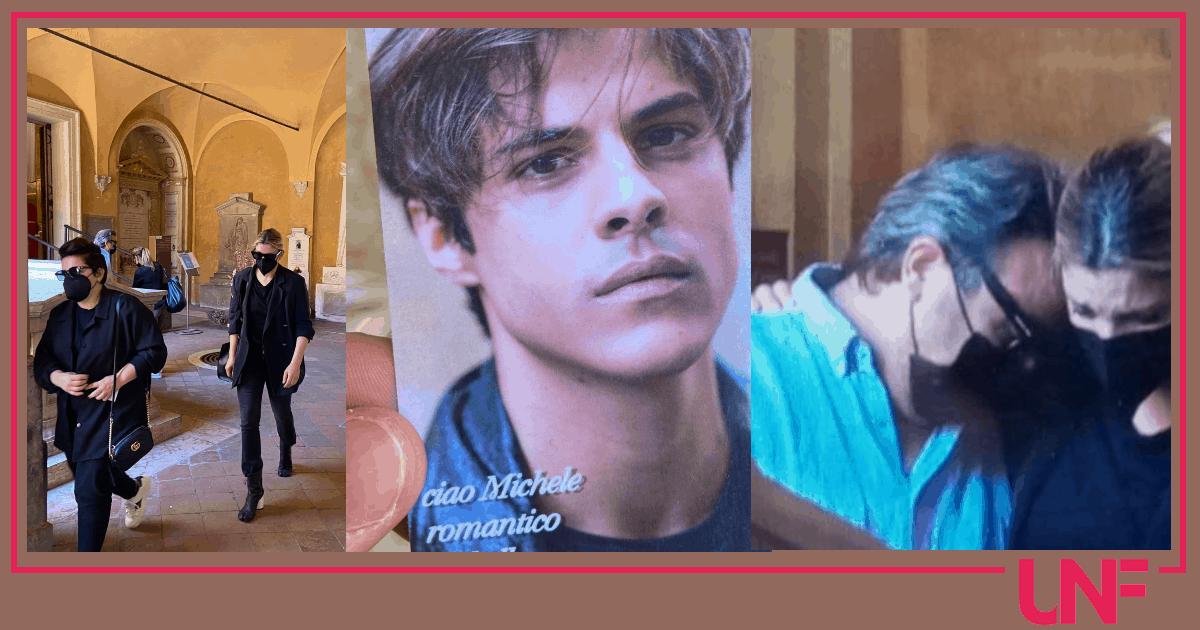 Emma e l'ultimo saluto a Michele Merlo: grande commozione a Bologna