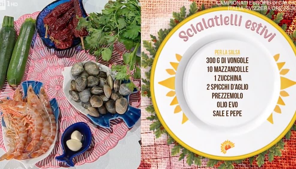Scialatielli estivi, la ricetta di Mattia e Mauro Improta