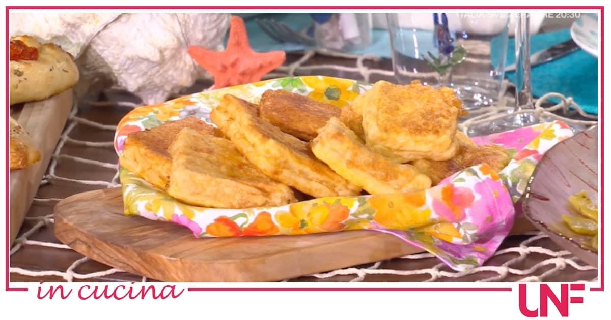 Mozzarella in carrozza di Ada Boni, la ricetta con Zia Cri