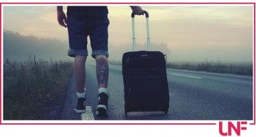 valigia estate uomo