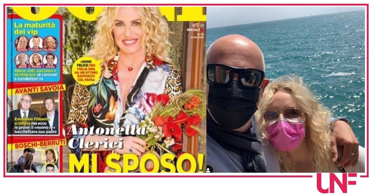 Vittorio Garrone e Antonella Clerici si sposano, il matrimonio prima del previsto
