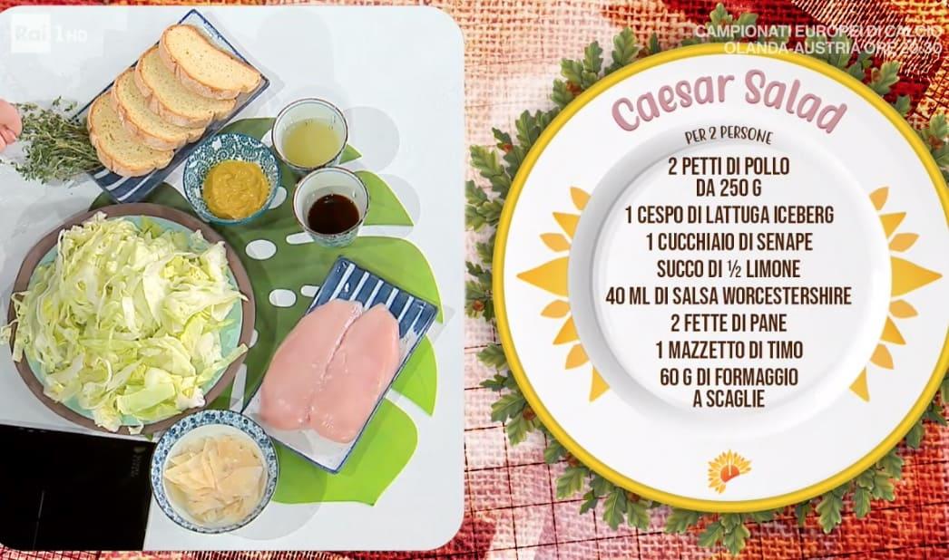 L'insalata di Zia Cri, Caesar Salad è la ricetta dell'estate