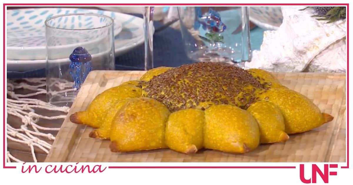 Pane girasole, la ricetta di oggi di Fulvio Marino