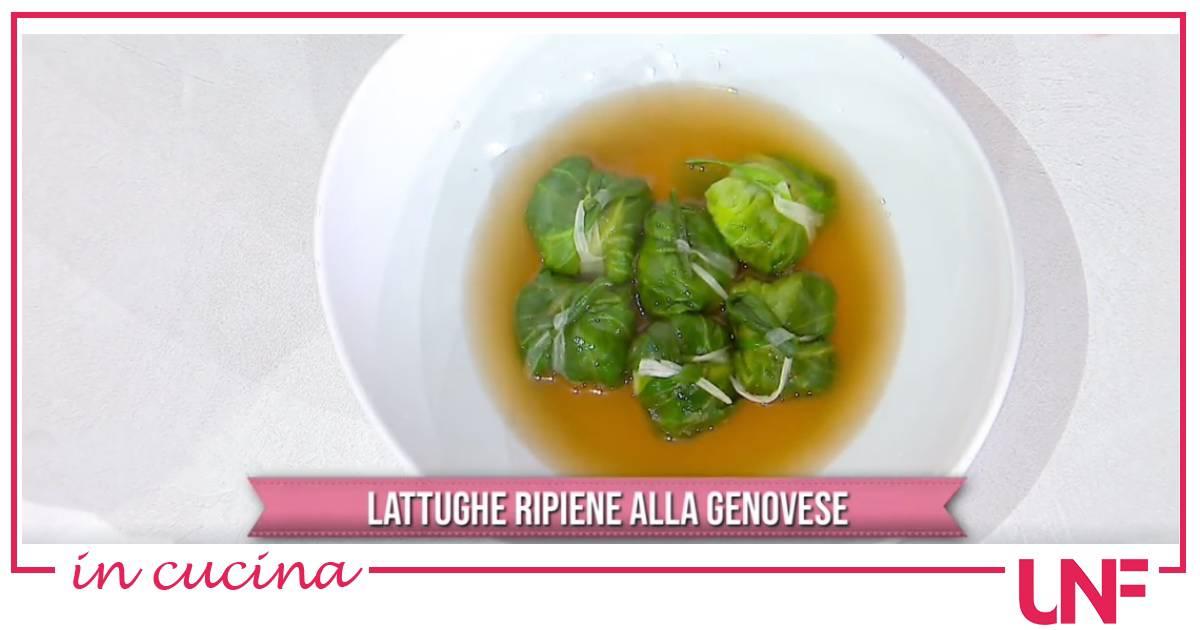 Lattughe ripiene alla genovese, la ricetta di Ivano Ricchebono