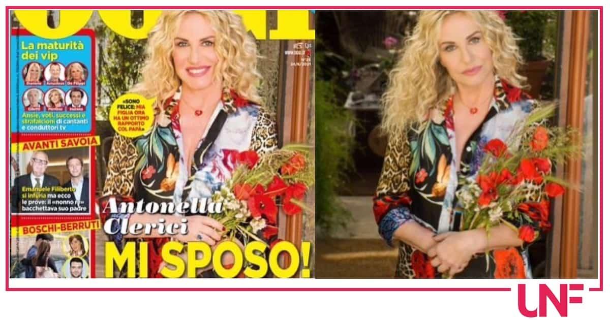 """Antonella Clerici il no al matrimonio: """"Sposatevi prima voi"""""""
