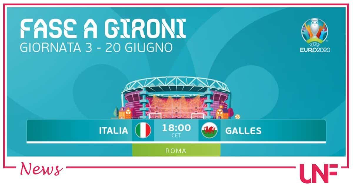Euro 2020 oggi Italia-Galles: le probabili formazioni per confermare il primo posto