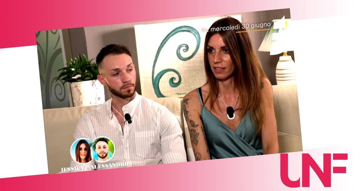 Jessica e Alessandro a Temptation Island 2021: una relazione spenta e monotona
