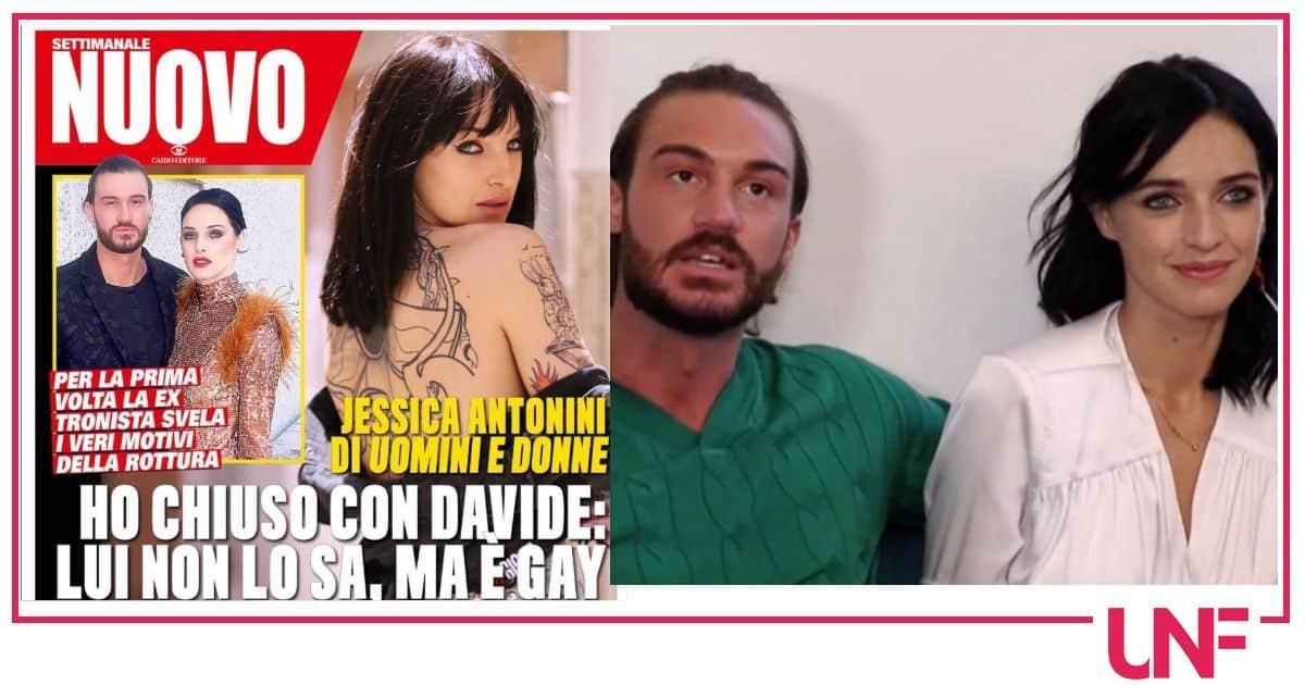 Da Nuovo le parole di Jessica Antonini: Davide è gay ma non lo sa