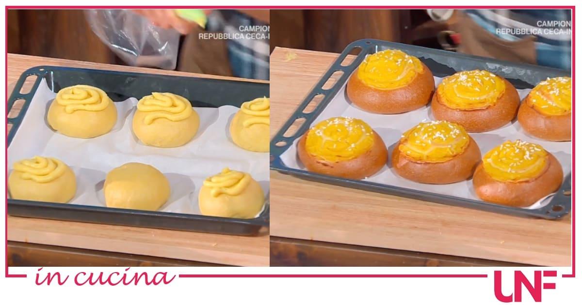 Brioche veneziane, la ricetta di Fulvio Marino con crema