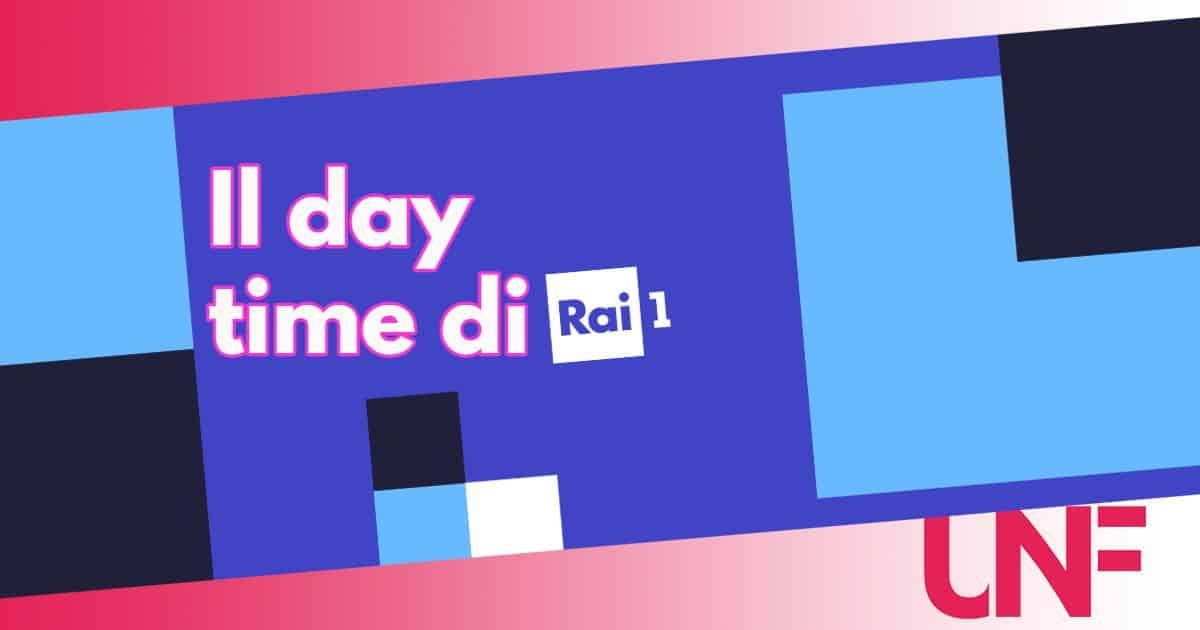 Il nuovo day time di Rai 1 riprende il 13 settembre: tutti i programmi in onda
