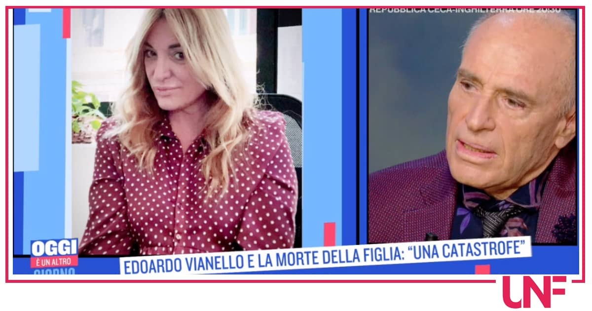 """La morte della figlia di Edoardo Vianello: """"Non c'era speranza, ho desiderato non soffrisse"""""""