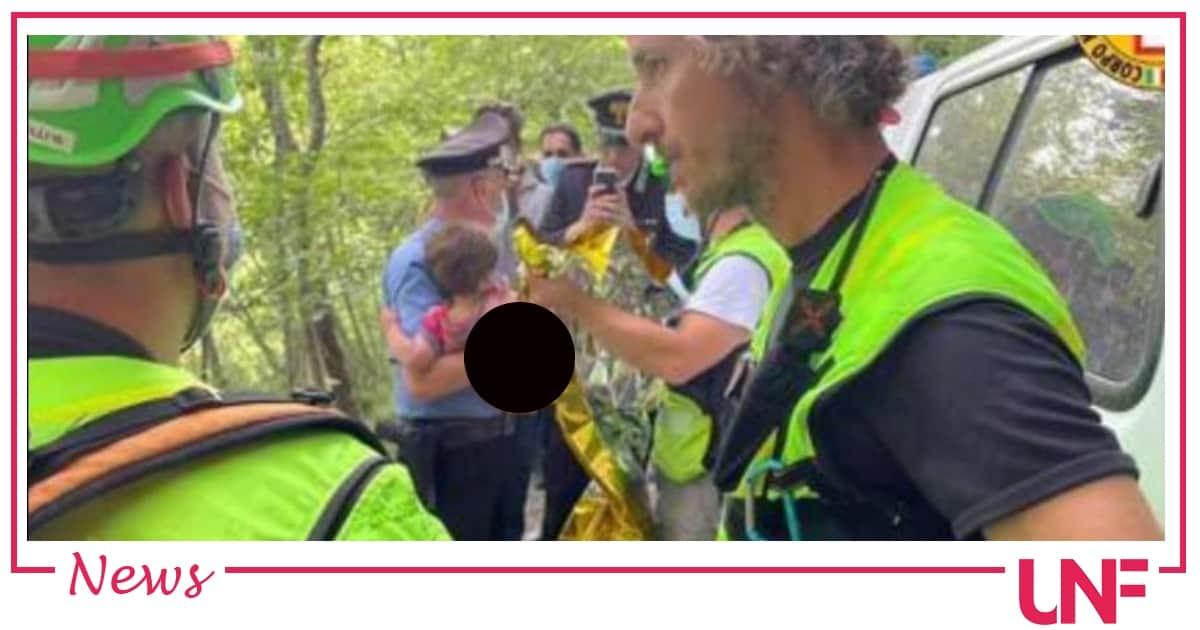 Il piccolo Nicola è stato ritrovato da un giornalista: sta bene