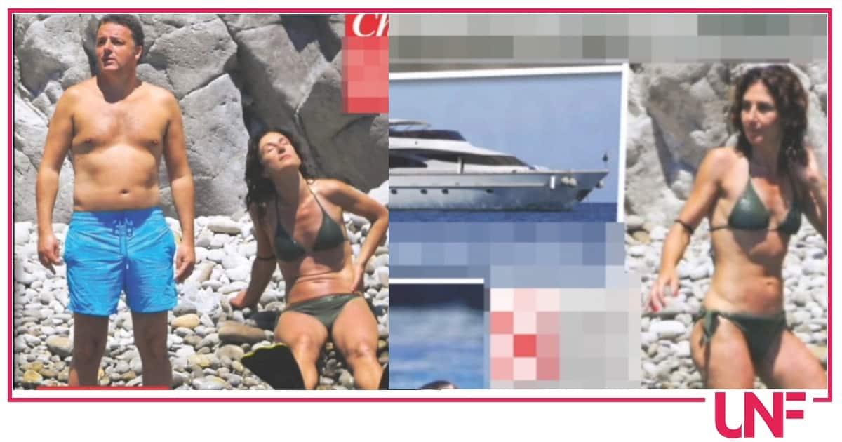 Per Matteo Renzi vacanze a Ponza ed è la moglie la più in forma (Foto)