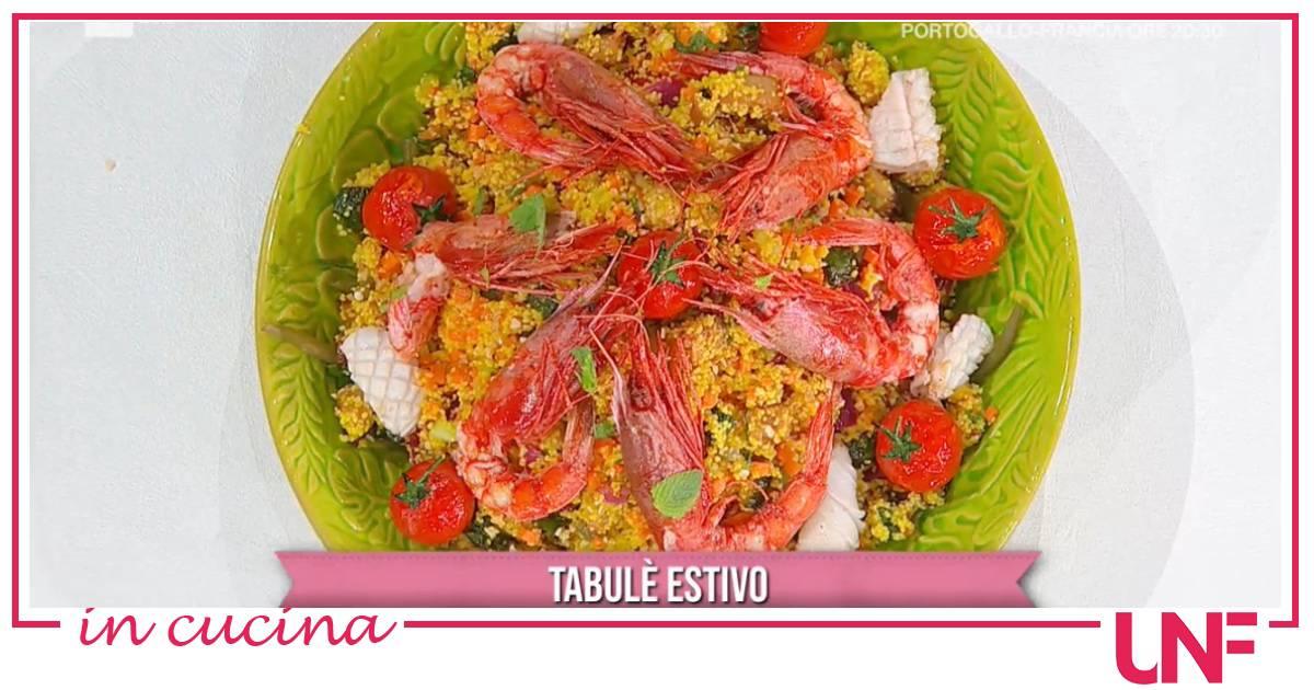 Tabulè estivo, la ricetta di Fabio Potenzano