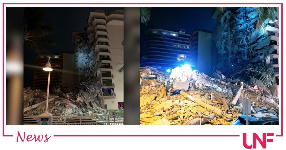 A Miami crolla un palazzo di 12 piani: si temono decine di vittime