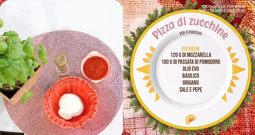 Pizza di zucchine, la ricetta di Zia Cri di oggi