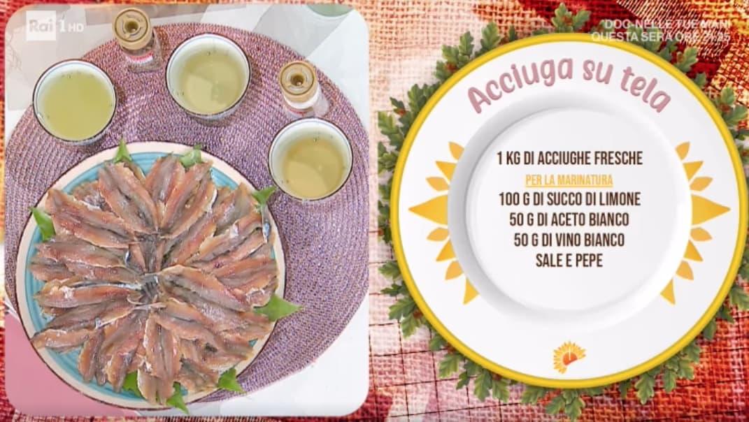 Acciuga su tela, la ricetta di Ivano Ricchebono