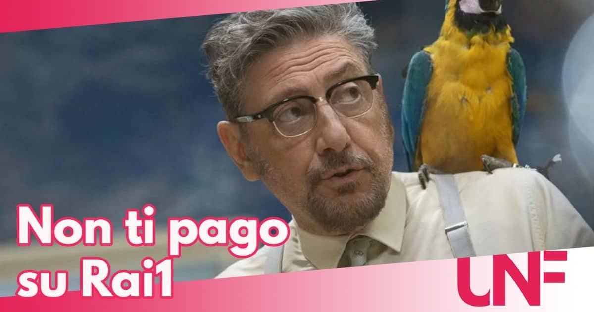 Non ti pago il tv movie con Sergio Castellitto su Rai 1
