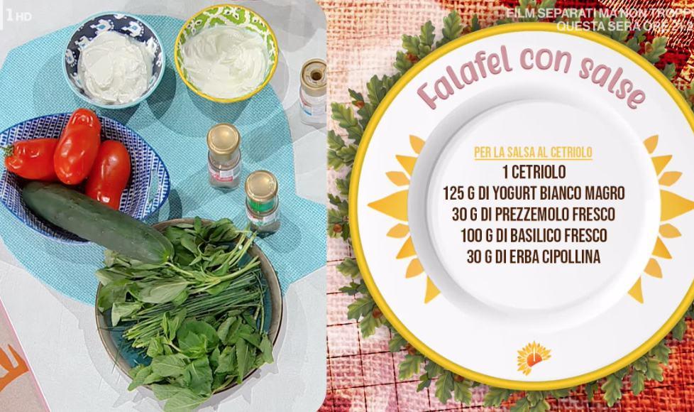 Falafel con salse, ricetta delle polpette con i ceci di Francesca Marsetti