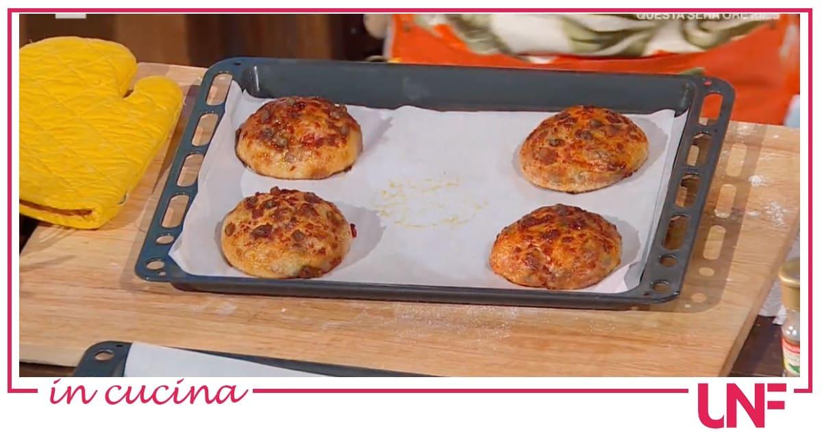 Fulvio Marino, la ricetta dei bomboloni di pizza