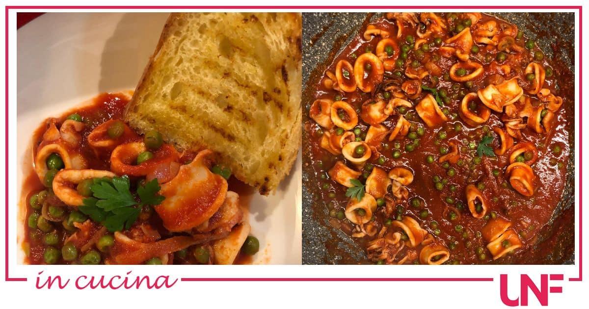 Ricette Benedetta Parodi: calamari in guazzetto super veloce