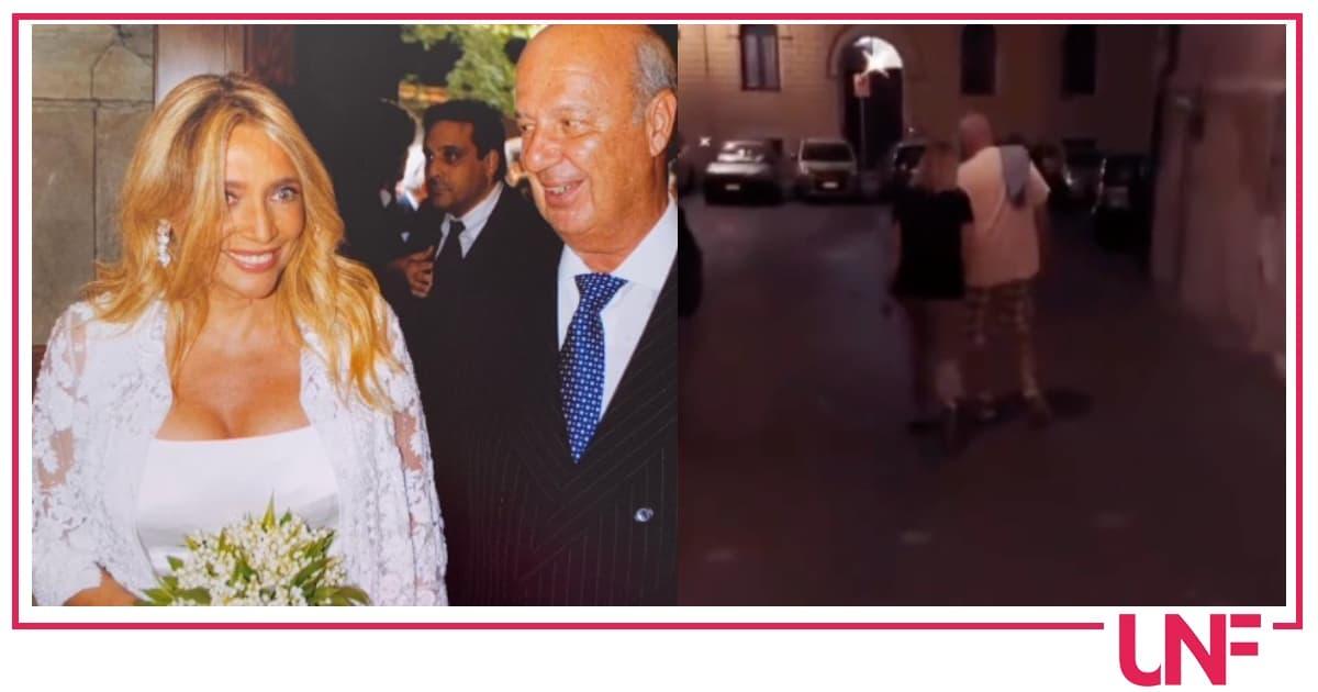 Mara Venier e Nicola Carraro festeggiano l'anniversario di matrimonio (Video)