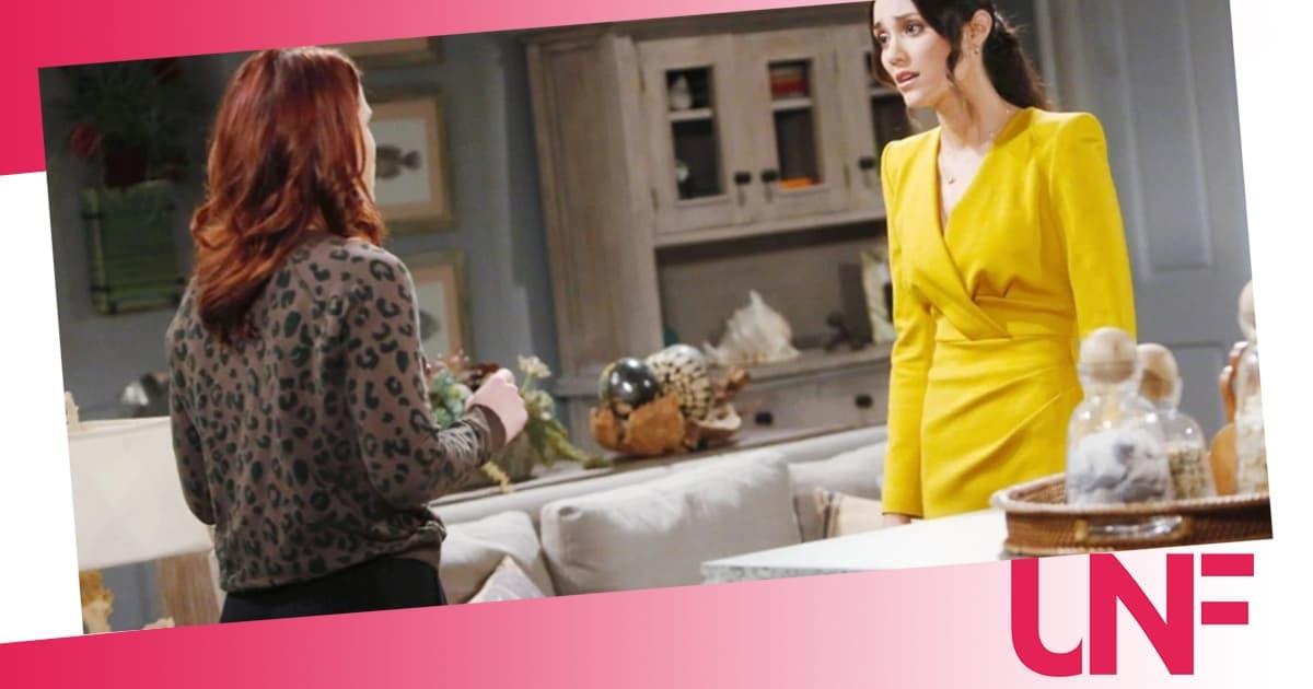 Beautiful anticipazioni: Sally continua a mentire ma Flo inizia a sospettare