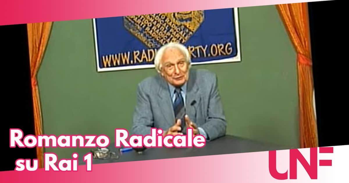 Romanzo radicale la docu fiction su Marco Pannella in autunno su Rai 1