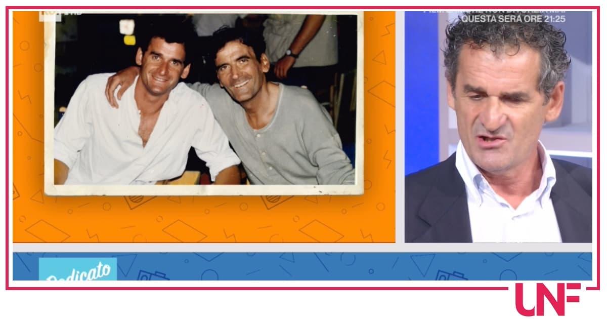 Dedicato: la controfigura di Massimo Troisi fa piangere Serena Autieri