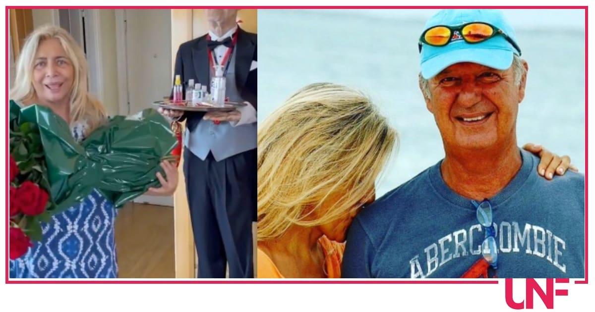 Il regalo del marito di Mara Venier  per l'anniversario è sempre lo stesso ogni anno (Video)