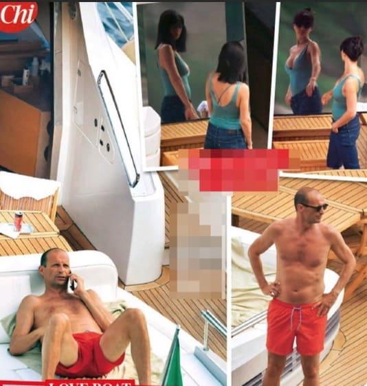 Ambra e Allegri scelgono lo yacht e Sorrento per la prima vacanza dell'estate (Foto)