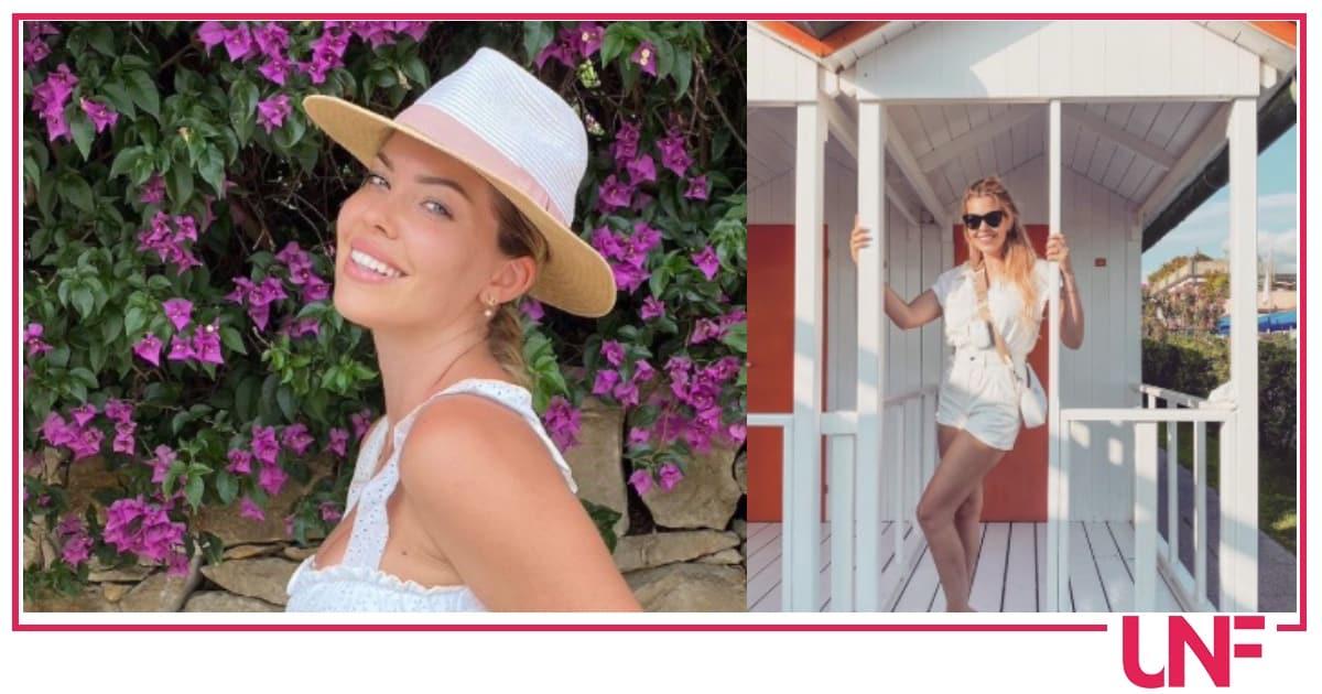 Costanza Caracciolo in bikini mostra come si nasconde la pancia gonfia (Foto)