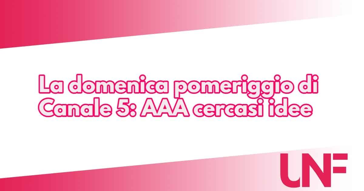 Silvia Toffanin e Anna Tatangelo per la nuova domenica di Canale 5, funzionerà?