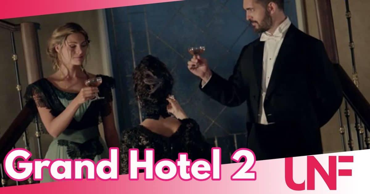 Grand Hotel 2 su Canale 5 dal 7 luglio: chi ha tentato di uccidere Andres?