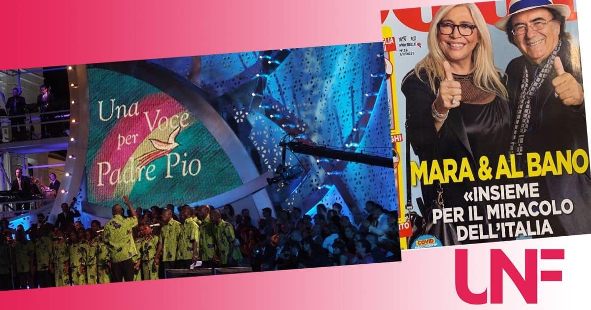 Una voce per Padre Pio con Mara Venier: gli ospiti della serata