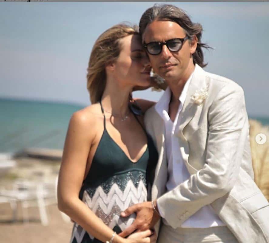 Angela Robusti incinta: Pippo Inzaghi annuncia che sta per diventare papà