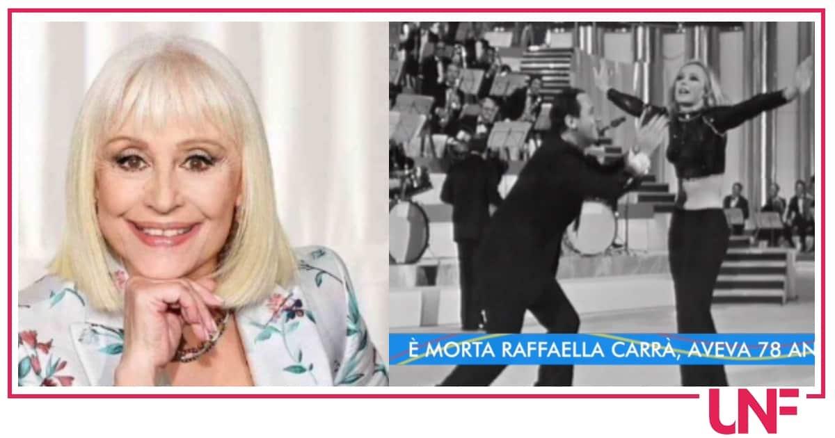 "Gli artisti danno l'addio a Raffaella Carrà: ""Sarai l'unica regina"""