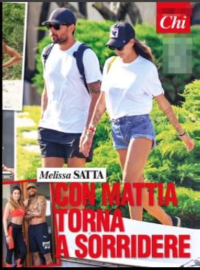 Melissa Satta ha un nuovo amore e con Mattia Rivetti la prima vacanza sullo yacht (Foto)