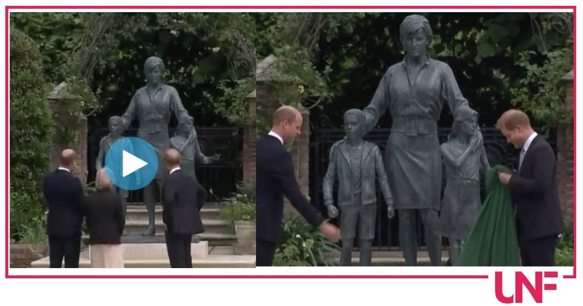 Parole grosse tra Harry e William anche dopo l'inaugurazione della statua di Lady Diana