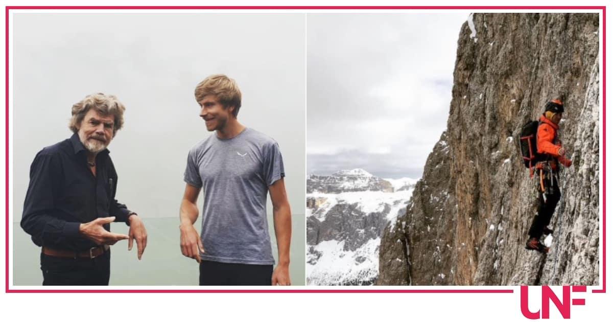 """Il figlio di Messner: """"Non mi ha invitato al suo matrimonio, non è un padre come gli altri"""""""