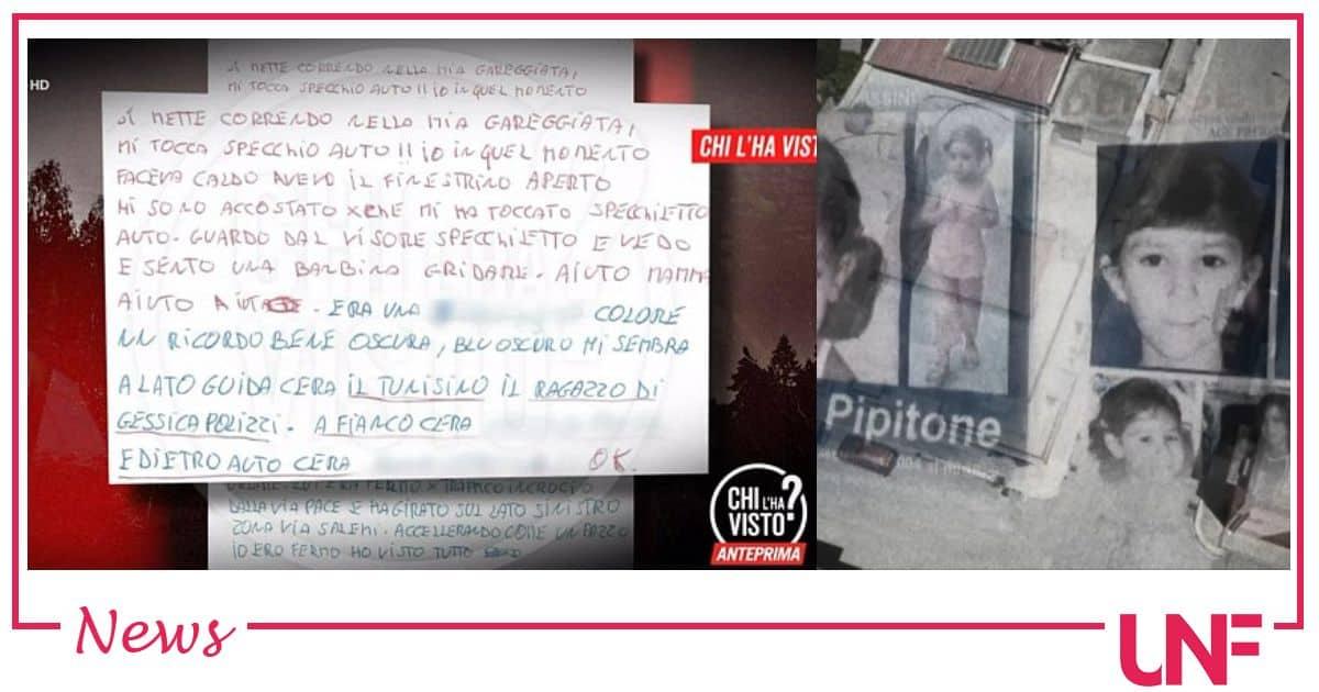 Denise Pipitone ultimissime: svelato il contenuto della lettera anonima, ecco chi c'era in macchina