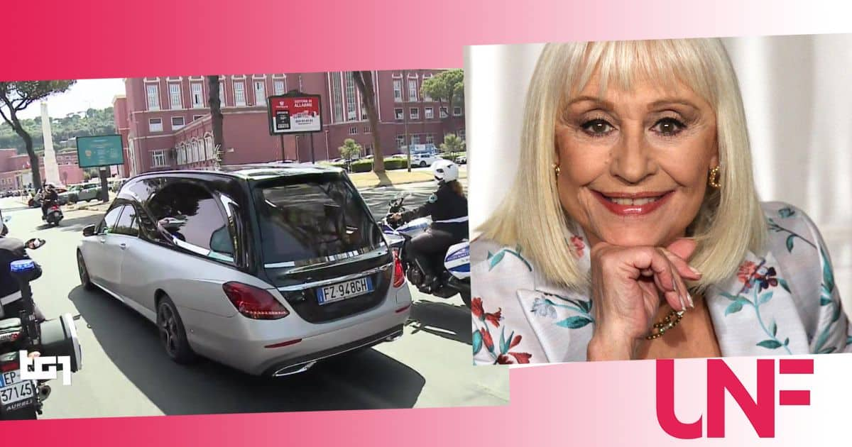 Funerali di Raffaella Carrà in diretta televisiva: Rai  e Mediaset salutano la stella