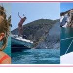 Emma Marrone in bikini rosso senza trucco parla di imperfezioni che fanno la differenza