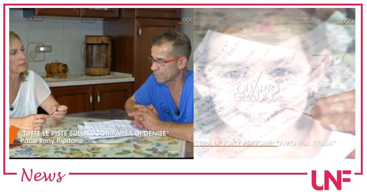"""Denise Pipitone ultime notizie, parla Tony: """"Si sa tutto, si sa chi è ma è tutto fermo"""""""