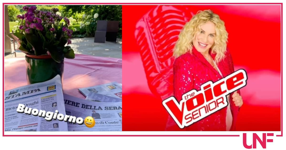 Antonella Clerici mostra la vista da casa e stasera torna con The Voice Senior