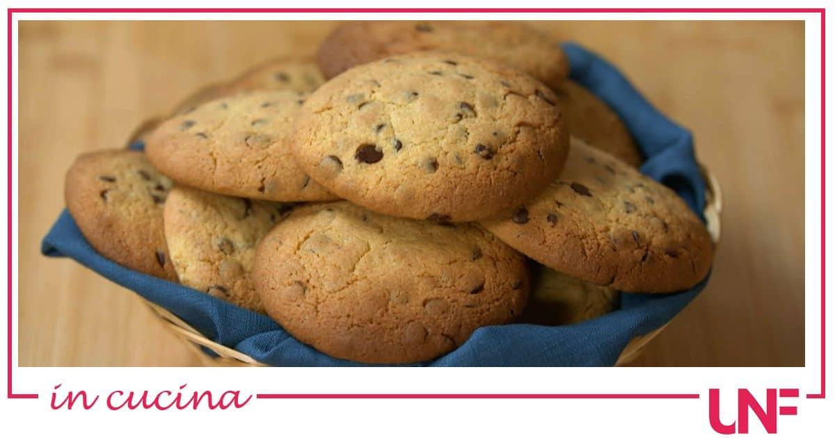 I cookies al cioccolato con farina di ceci: una ricetta di Benedetta Rossi