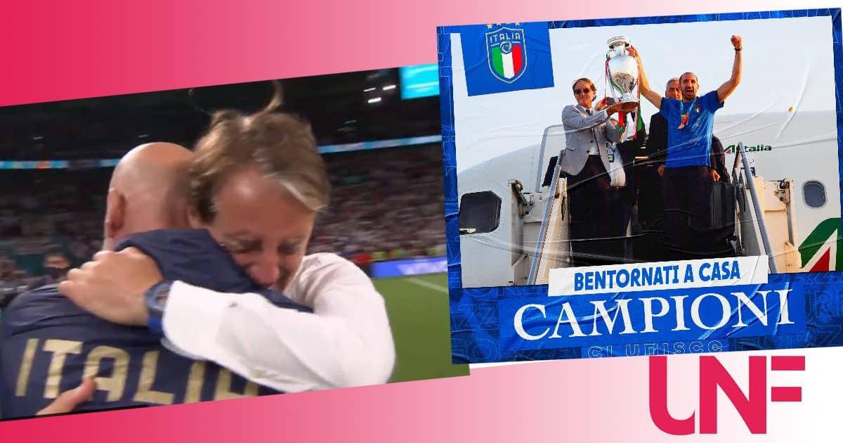 E' boom di ascolti per l'Italia in finale: si vola all'80% di share