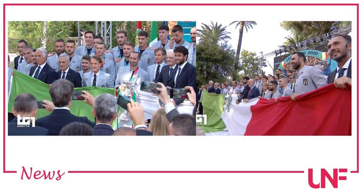 La magica domenica italiana: Mattarella ringrazia la nazionale italiana e Berrettini