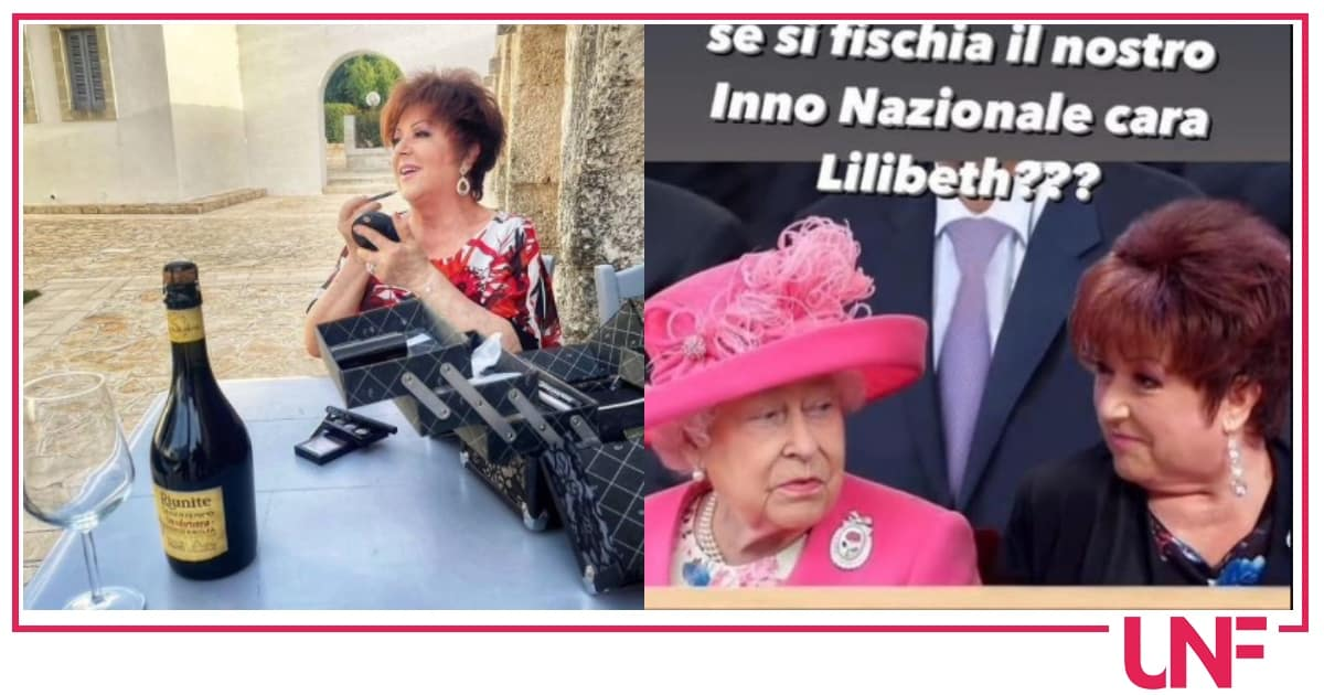 Orietta Berti lancia una frecciatina alla regina Elisabetta